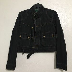 Ralph Lauren Denim Biker Jacket